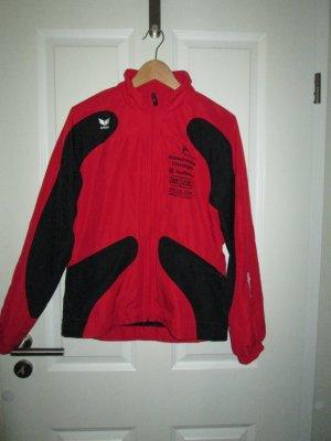 Trainingsjacke rot/schwarz