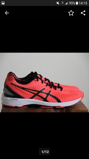 Asics Lace Shoes red
