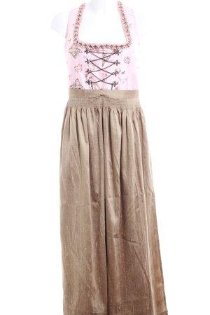 Tramontana Dirndl pink-bronzefarben Business-Look