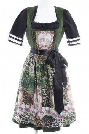 Tramontana Dirndl Leomuster Country-Look