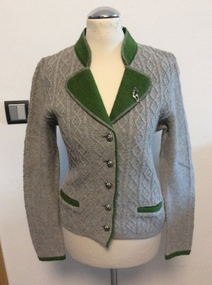 Tramontana Traditional Jacket light grey-forest green