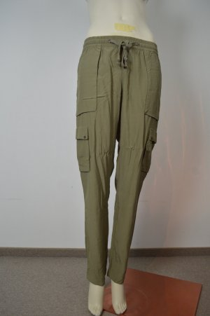 Tramontana Baggy Pants green grey viscose