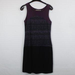 Tramontana Kleid Stretchkleid Gr. M dunkellila/schwarz