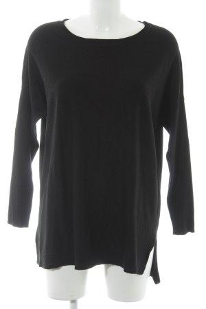 Tramontana Oversized Shirt schwarz Casual-Look