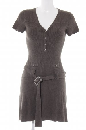 Tramontana Abito di maglia marrone-grigio stile casual