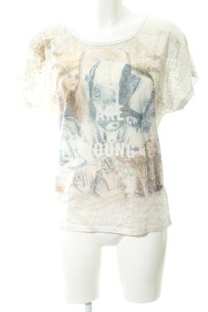 Tramontana T-Shirt grafisches Muster schlichter Stil
