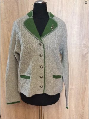 Tramontana Traditional Dress light grey-forest green