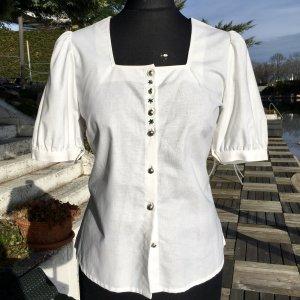 Tramontana Folkloristische blouse wit