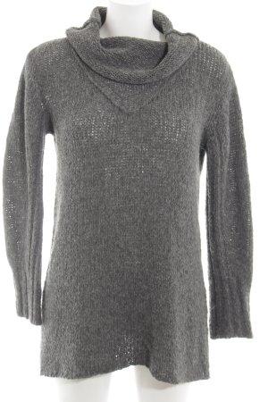 Transit Jersey de lana gris claro look casual