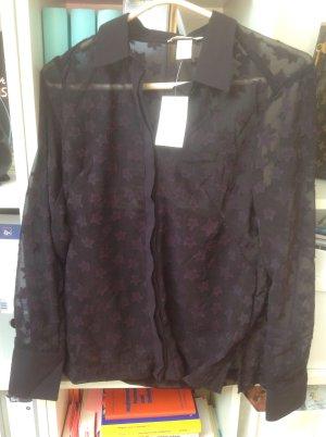 Transparent Bluse