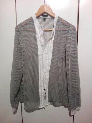 Esprit Transparent Blouse white-grey