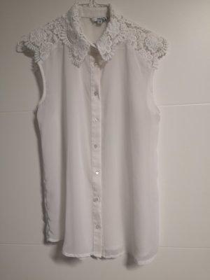 Tally Weijl Mouwloze blouse wit