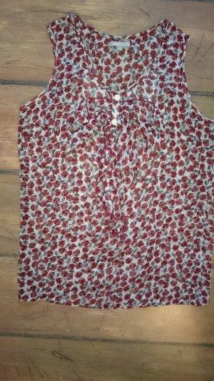 Transparente Bluse (Gr. 38, fällt aus wie 36)