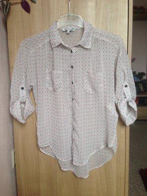 Transparente Bluse in Größe S