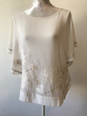 Great plains Transparante blouse wit-room