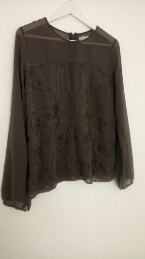 Transparente Bluse mit tollen Details