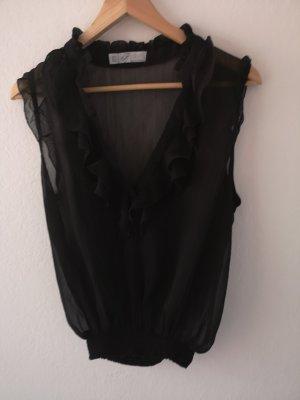 Zara Trafaluc Camisa de mujer negro