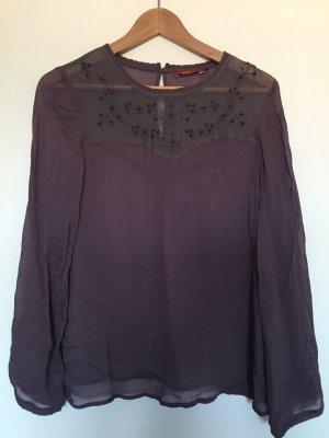 transparente Bluse von Esprit, Größe 38