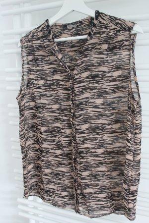 Transparente Bluse von Maison Scotch Größe 38/40