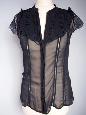 Transparente Bluse von Supertrash Gr. M