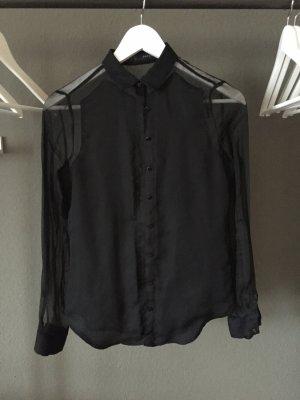 Transparente Bluse von ZARA