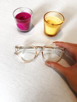 Transparente Brille Neu