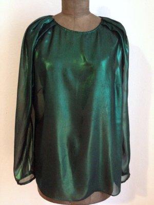 Transparente, glänzende Bluse von Blacky Dress, Gr. 44 (passt auch Gr. 42)