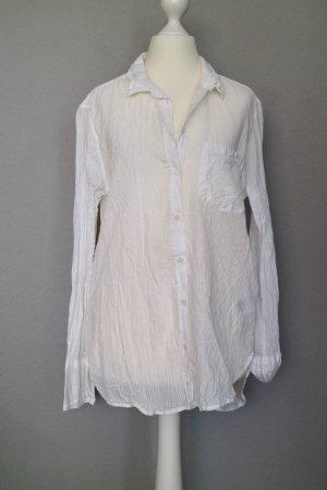 H&M L.O.G.G. Shirt met lange mouwen wit