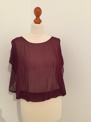 American Apparel Blouse bordeaux