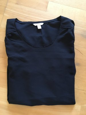 Transparente langärmelige Bluse