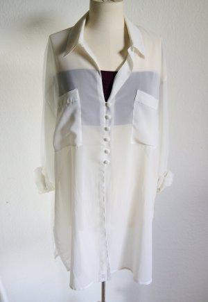 Transparente Oversize Bluse, preppy blogger