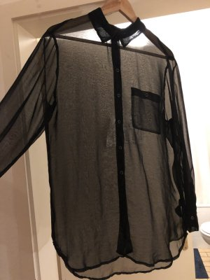 H&M Blouse oversized noir