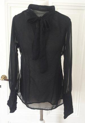 Vero Moda Blusa trasparente nero Poliestere