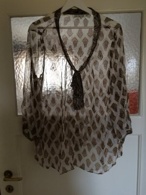 Transparente Tunika-Bluse