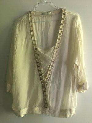 Promod Tunique-blouse blanc