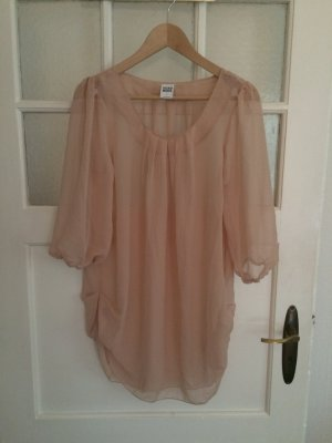 Transparente Über-Bluse