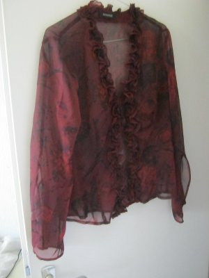 transparenter Cardigan