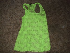 Amisu Muscle Shirt meadow green polyester
