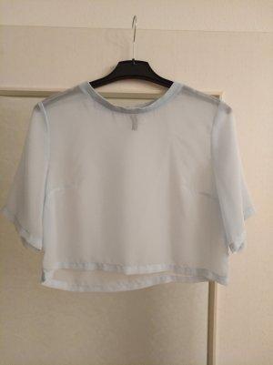 Transparentes Cropped Shirt