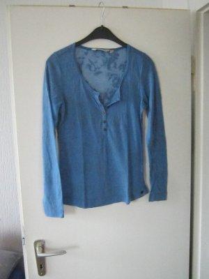 transparentes Langarm-Shirt