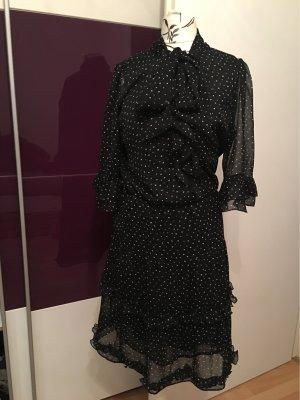 Transparentes Pünktchen Kleid
