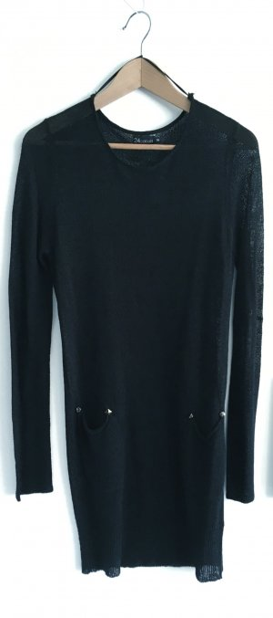 24Colours Sweater Dress black
