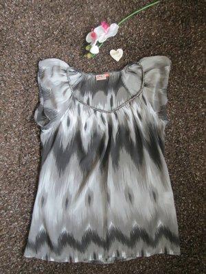 Only V-hals shirt veelkleurig Polyester