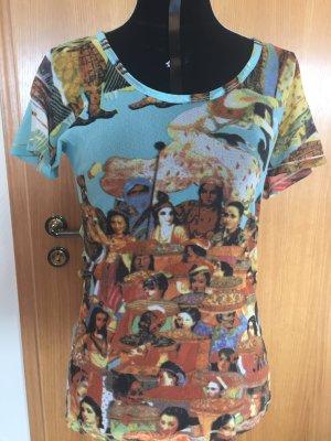 Transparentes Shirt mit Motiv