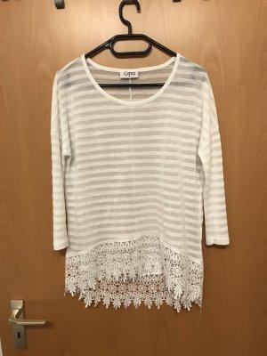 Camisa tejida blanco