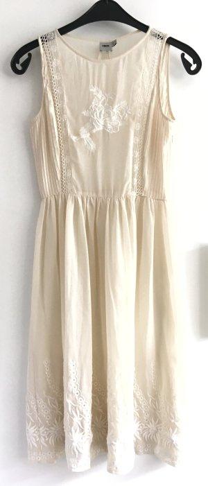 Asos Midi Dress natural white