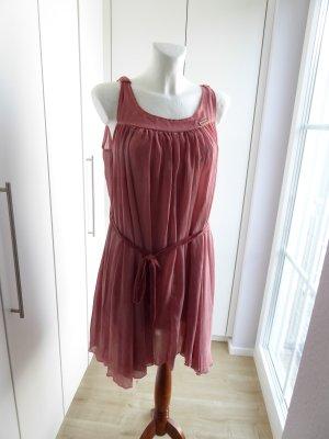 Khujo Chiffon Dress pink-dusky pink polyester
