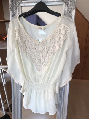 Molly bracken Tunique-blouse blanc cassé
