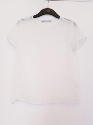 transparentes Zara Tshirt Größe S