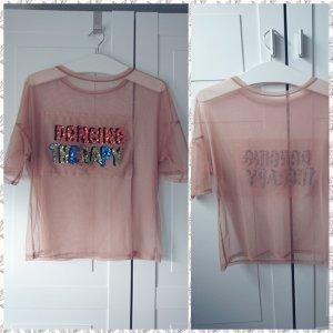 transpatentes Shirt von Zara